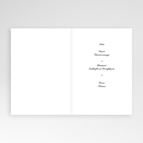 Menükarten Taufe - Zartes Rosa 4139 preview