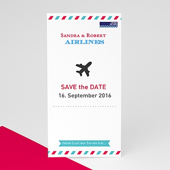 Save The Date  - Airlines - 0