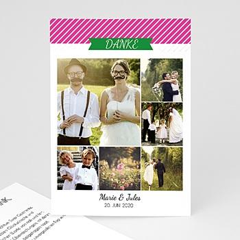 Danksagungskarten Hochzeit  - Pop Charme - 0