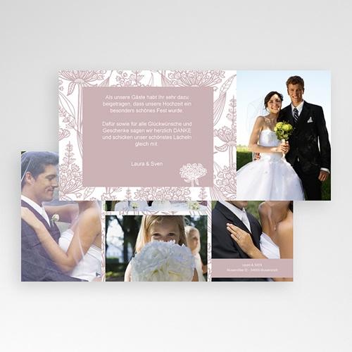 Danksagungskarten Hochzeit  Paola pas cher