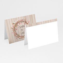 Tischkarten Hochzeit personalisiert Farbharmonie