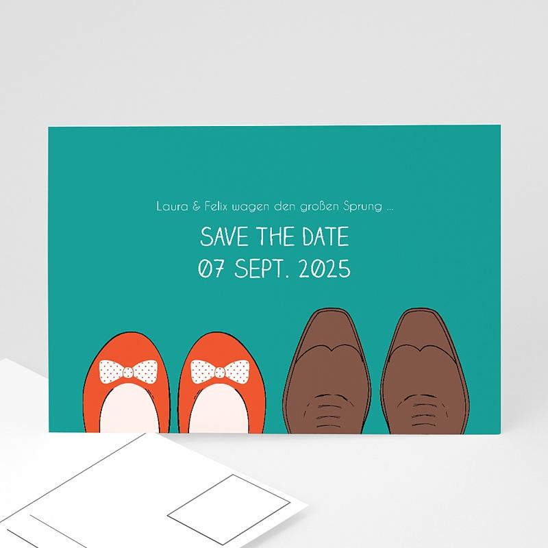 Save The Date Karten Hochzeit Retro Look