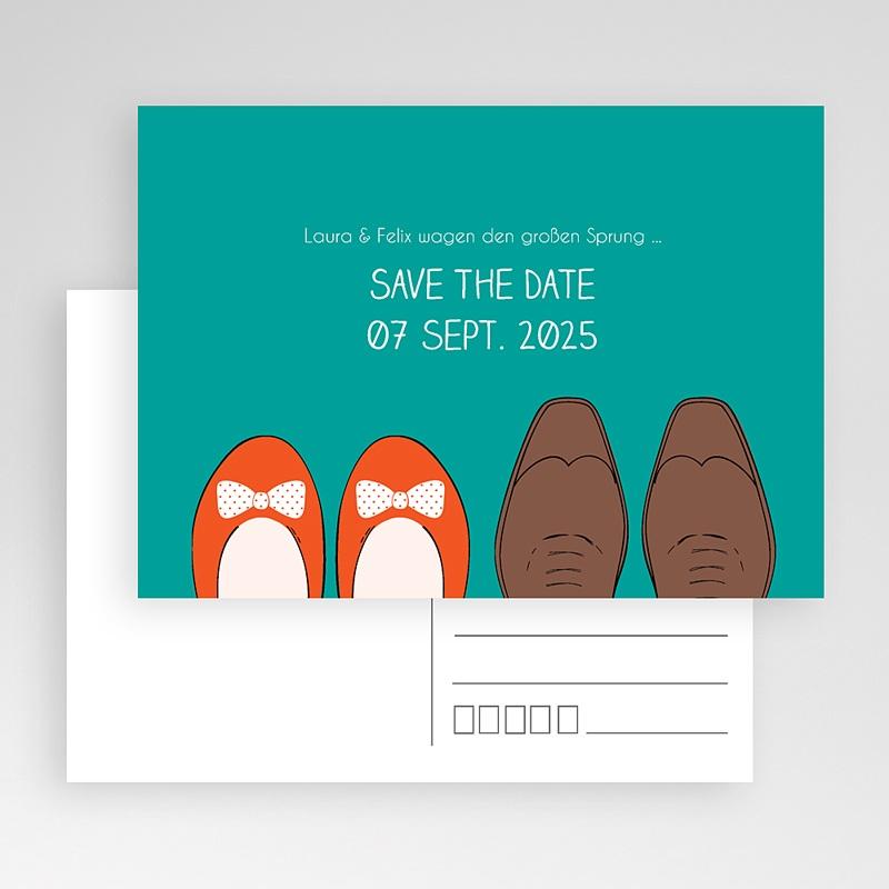 Save The Date Karten Hochzeit Retro Look gratuit