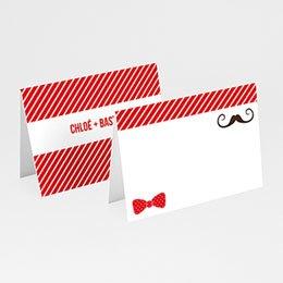 Tischkarten Hochzeit personalisiert Brautpaar