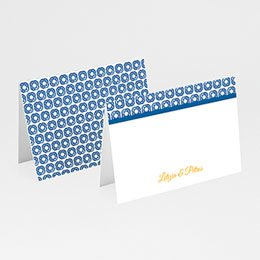 Tischkarten Hochzeit personalisiert Design Lissabon