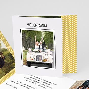 Danksagungskarten Hochzeit  - Love - 0
