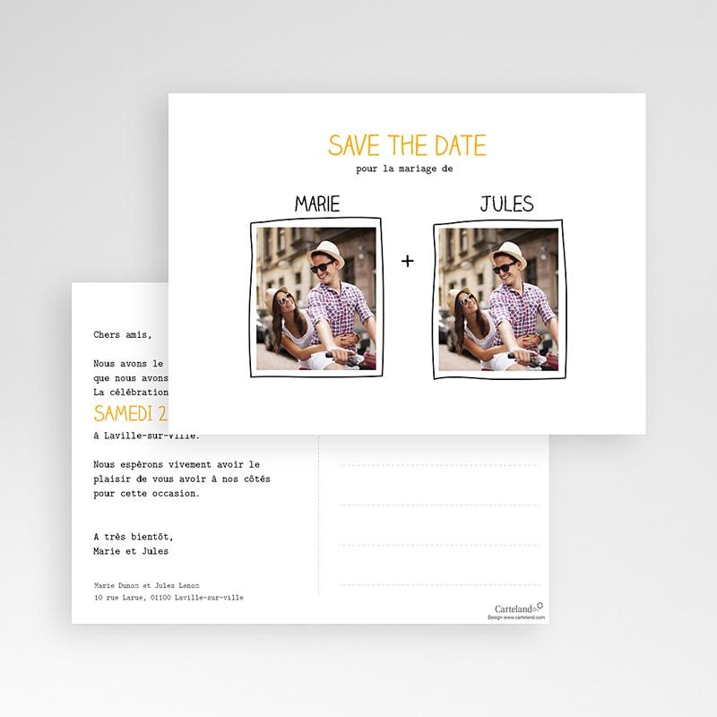 Save The Date Karten Hochzeit Love  pas cher