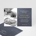 Geburtskarten für Jungen Kreidedesign baby