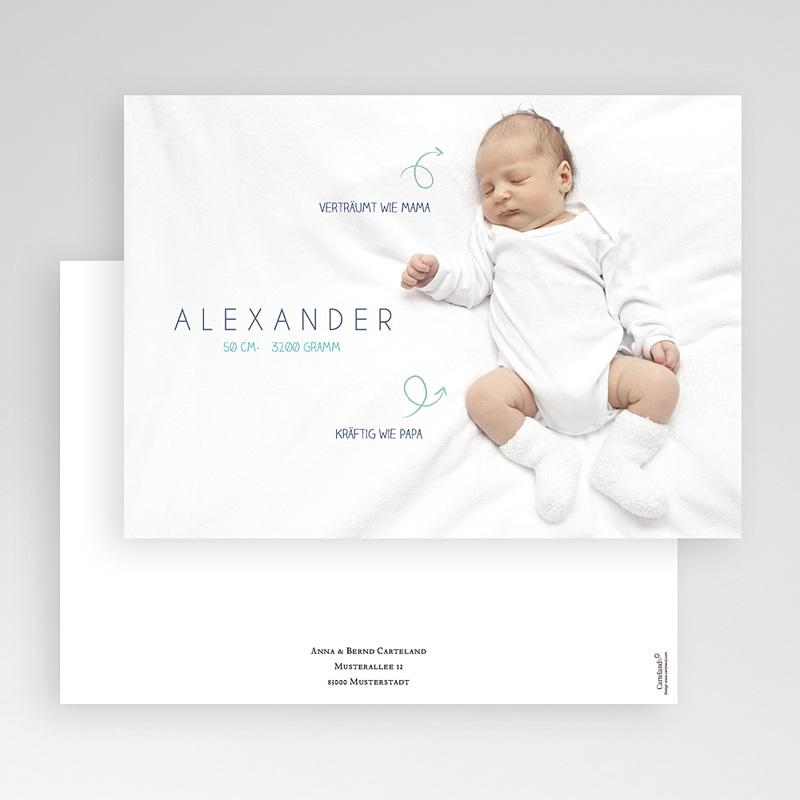 Geburtskarten für Jungen Kleine Pfeile gratuit