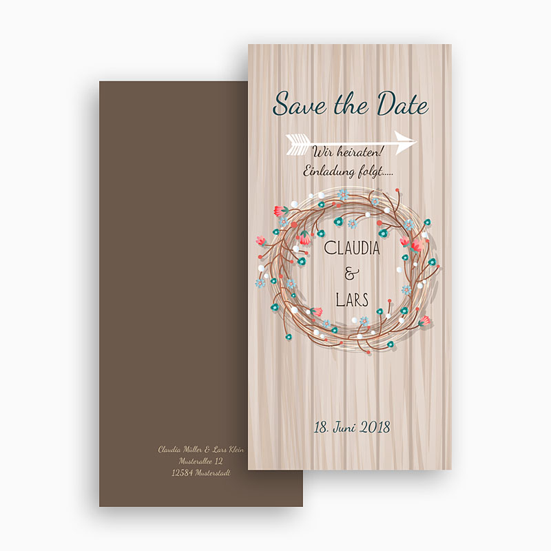 Save The Date  - Landhochzeit 41743 thumb