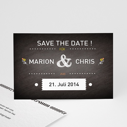 Save The Date  - Tafeldesign 41752
