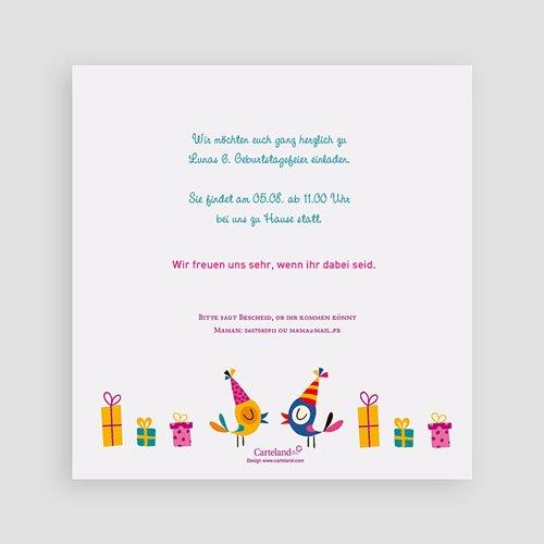Einladungskarten Geburtstag Mädchen Partylaune pas cher