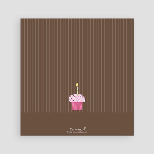 Geburtstagseinladungen Jungen - Cupcake rosa 41859 preview