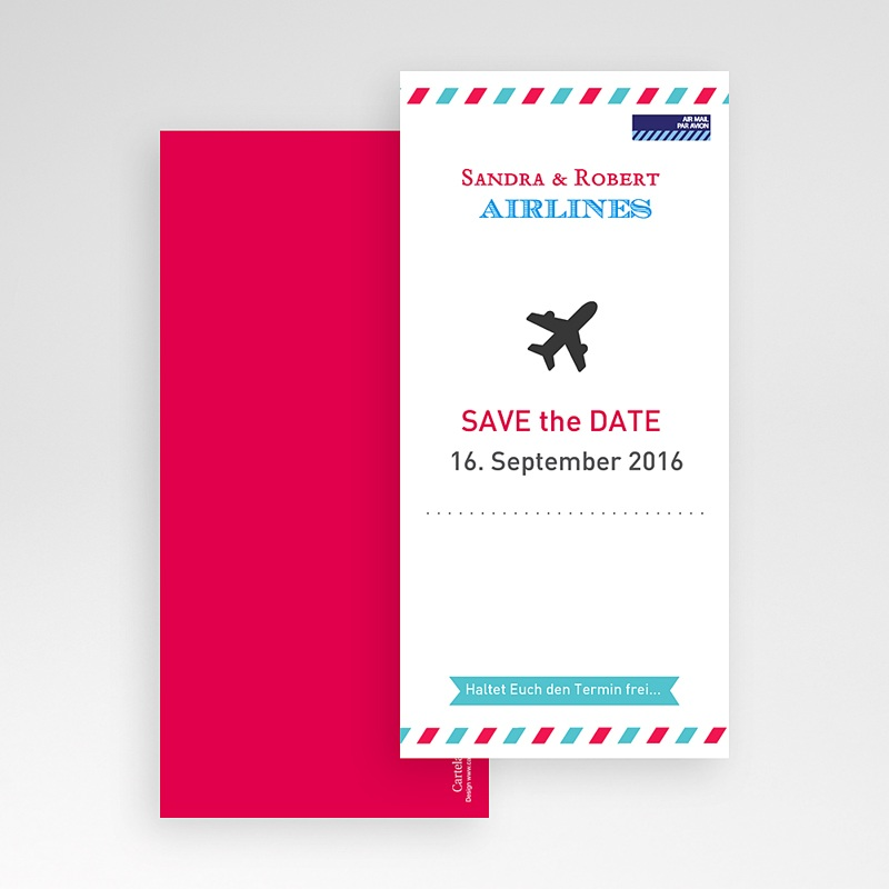 Save The Date  - Airlines 41888 thumb
