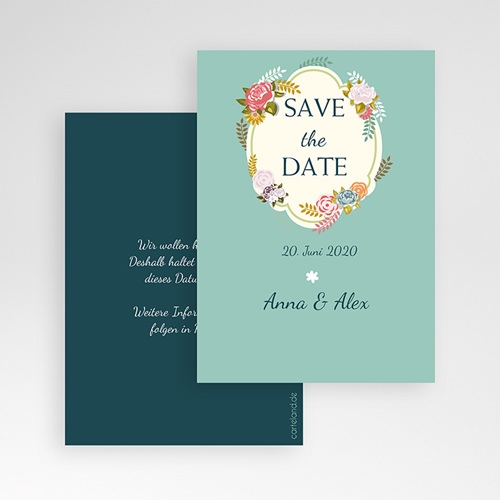Save The Date  - Vintage Romantik 41903 test