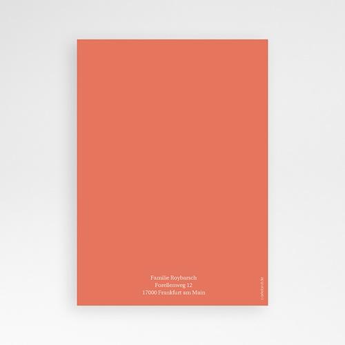 Geburtskarten für Jungen Goldfisch pas cher