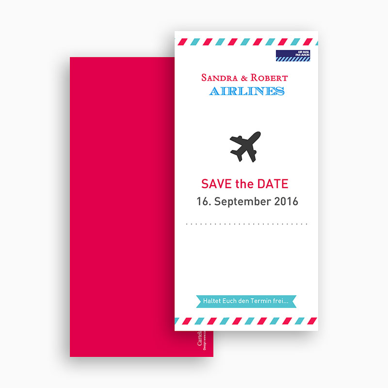 Save The Date  - Airlines 41954 thumb