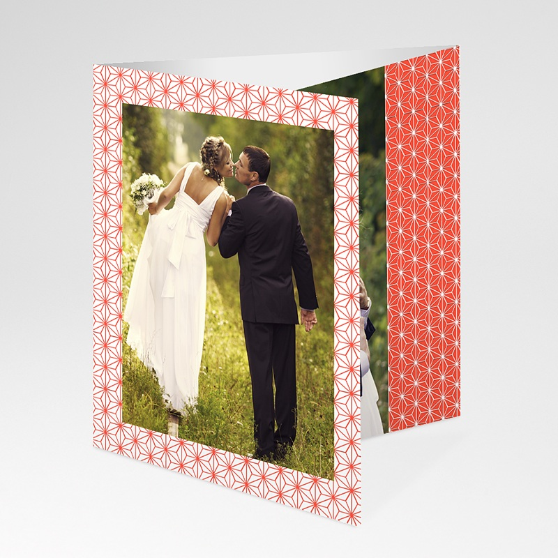 Danksagungskarten Hochzeit  Origami pas cher