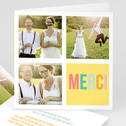 Danksagungskarten Hochzeit  Gute Laune