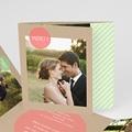 Danksagungskarten Hochzeit  Kreisförmig