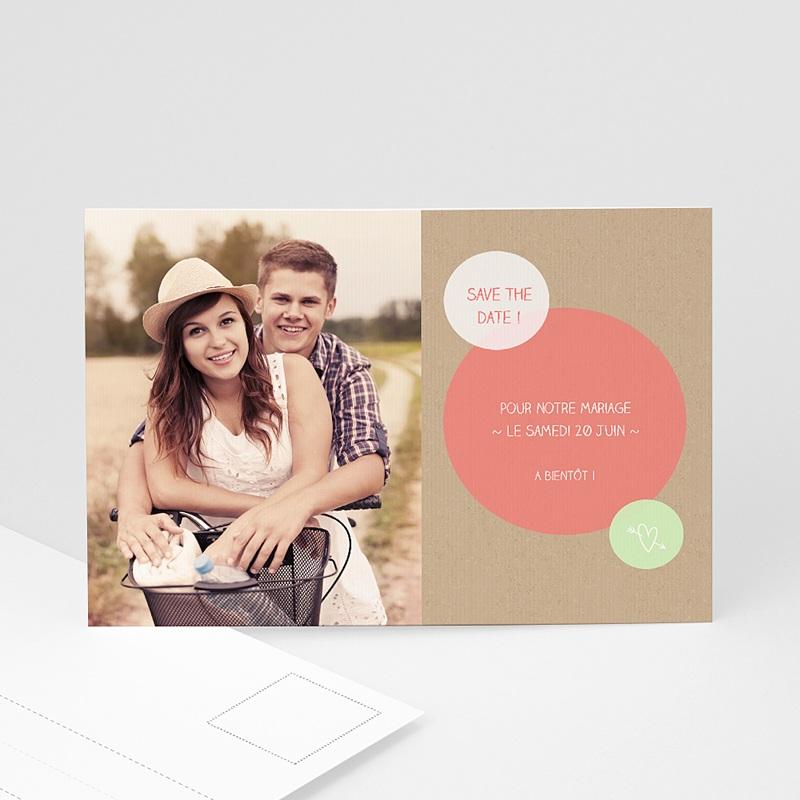 Save The Date Karten Hochzeit Kreisförmig