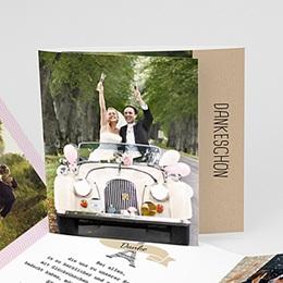 Danksagungskarten Hochzeit  - Love in Paris - 0
