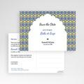 Save The Date Karten Hochzeit Casablanca pas cher