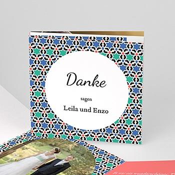 Danksagungskarten Hochzeit  - Alhambra - 0