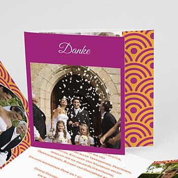 Danksagungskarten Hochzeit  - Marrakech Ambiente - 0