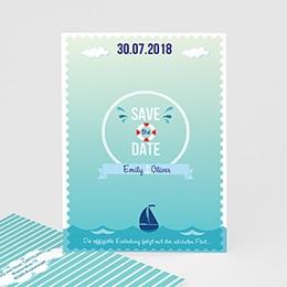 Save the date Hochzeit Anker