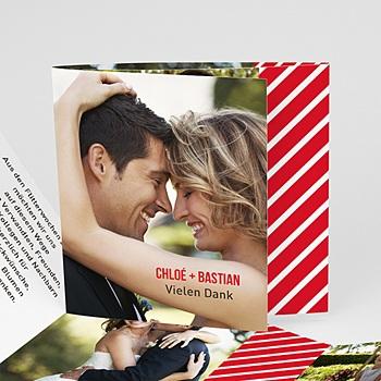Danksagungskarten Hochzeit  - Madame und Monsieur - 0