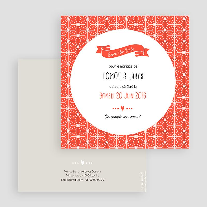Save The Date  - Origami 42258 thumb