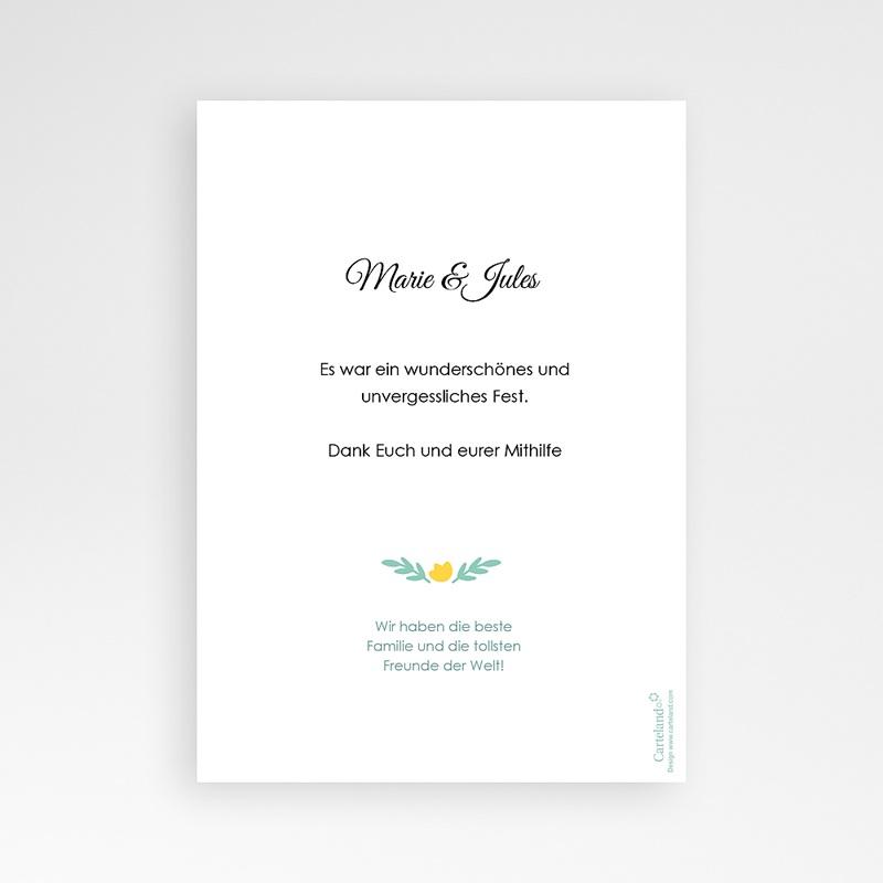 Danksagungskarten Hochzeit  Cannes pas cher