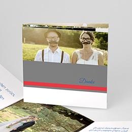 Danksagungskarten Hochzeit  - Aubusson Stil - 0