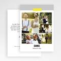 Danksagungskarten Hochzeit  Neon Gelb gratuit