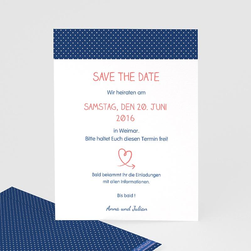 Save The Date Karten Hochzeit Verspielt