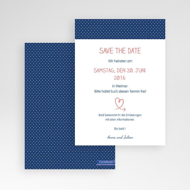 Save The Date Karten Hochzeit Verspielt pas cher