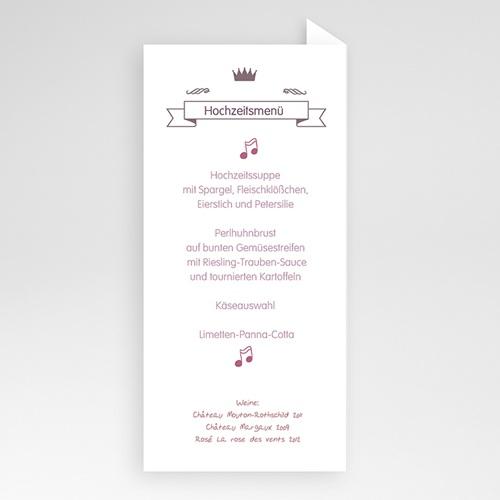 Menükarten Hochzeit  Zarte Töne pas cher