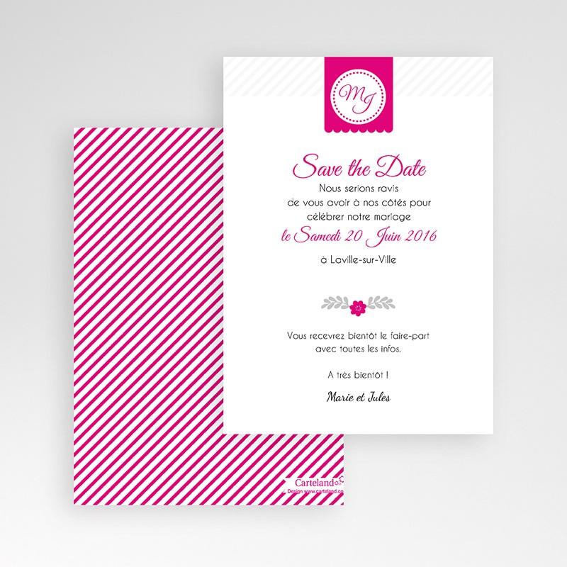 Save The Date Karten Hochzeit Just us pas cher