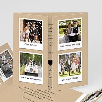 Originelle Dankeskarte Hochzeit  - Liebesglück - 0