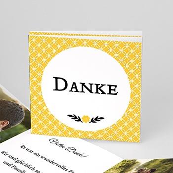 Danksagungskarten Hochzeit  - Yellow ! - 0