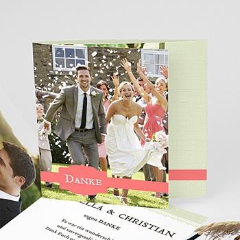 Danksagungskarten Hochzeit  - Makrönchen - 0