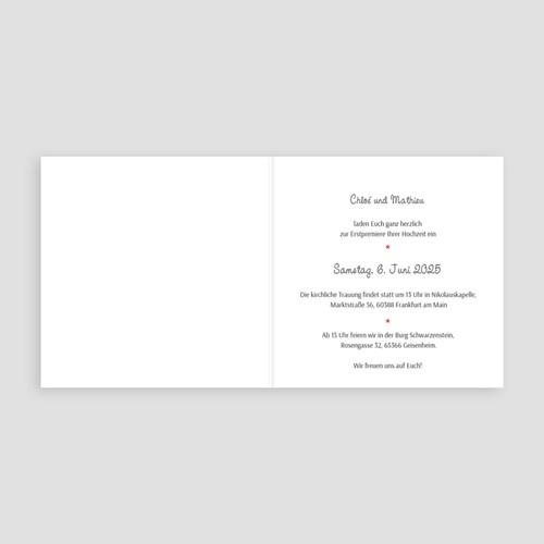 Humorvolle Hochzeitskarten  - Theater 42686 thumb