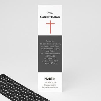 Lesezeichen - Modernes Kreuz - 0