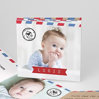Geburtskarten für Jungen - Babypost - 0
