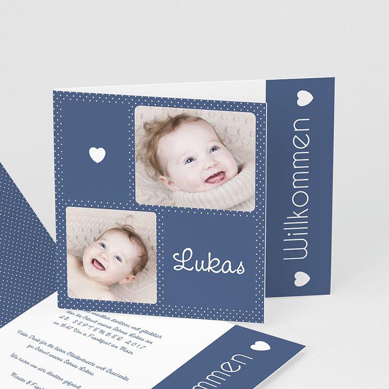 Geburtskarten für Jungen Emotionen