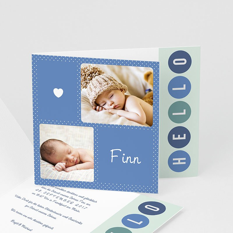 Geburtskarten für Jungen It's a boy