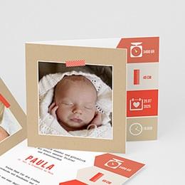 Geburtskarten für Mädchen - Notizen - 0