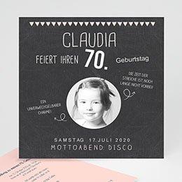 Runde Geburtstage - 70 Jahre Tafelkreide - 0