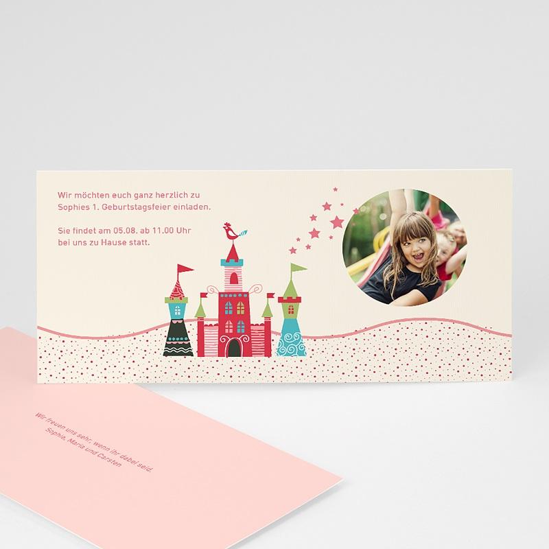 Geburtstagseinladungen Mädchen Schloss